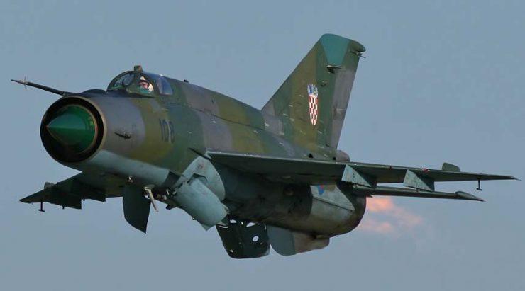 В «Укрспецэкспорте» опровергают сообщения о претензиях Хорватии к украинским МиГ-21