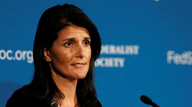РФ вновь препятствует ООН осудить применение химического оружия в Сирии, — Хейли