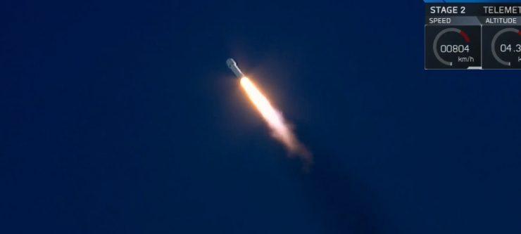 В «Роскосмосе» назвали запуск Falcon Heavy рекламным «трюком»