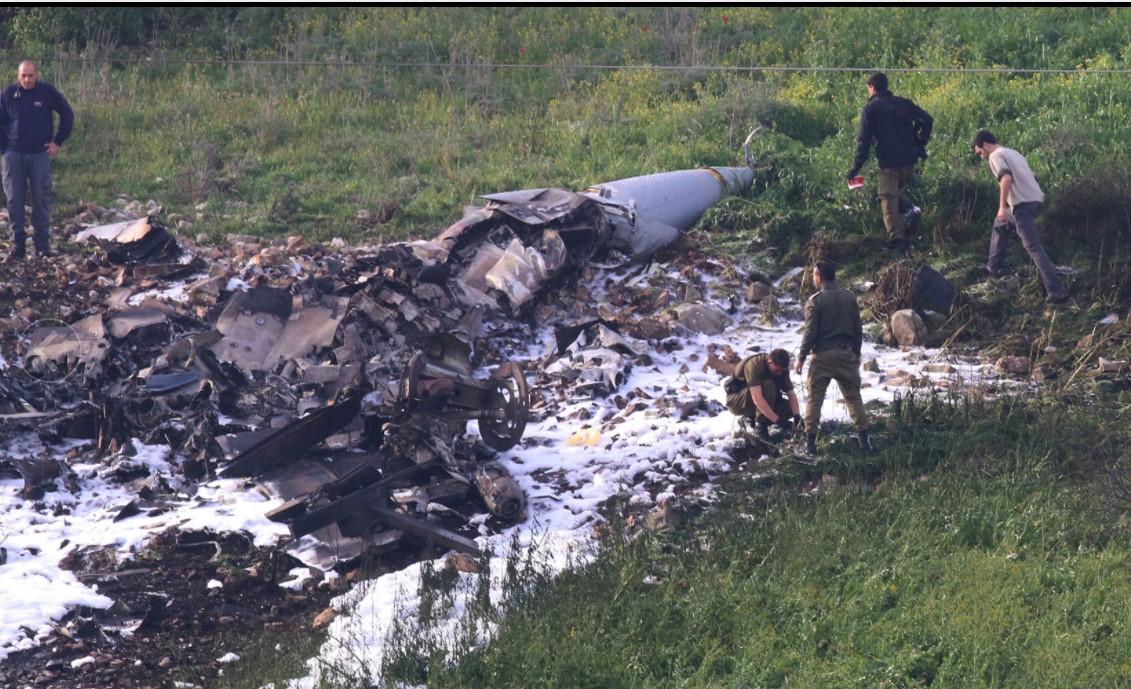 Сирия сбила израильский истребитель F-16
