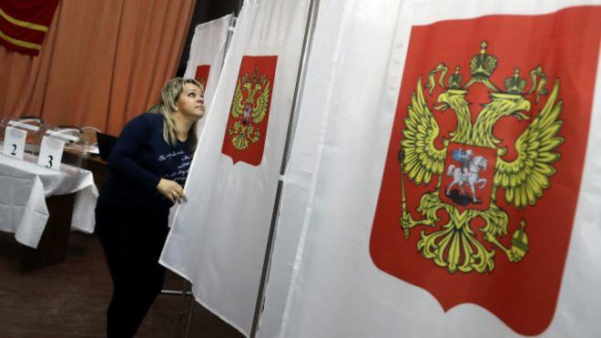 Россия просит открыть в Украине избирательные участки к выборам президента