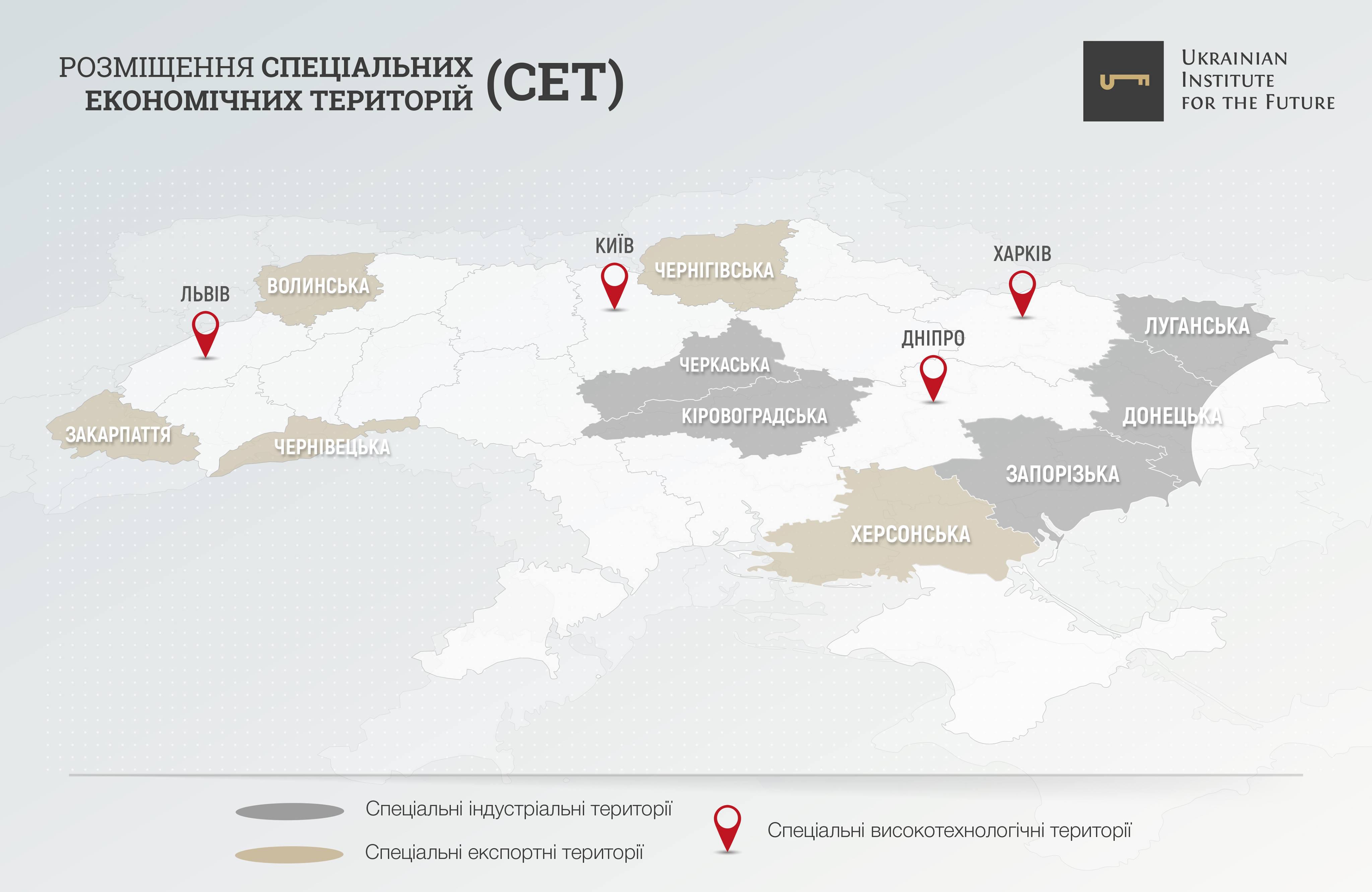 Новые специальные экономические территории — рецепт экономического взрыва в Украине
