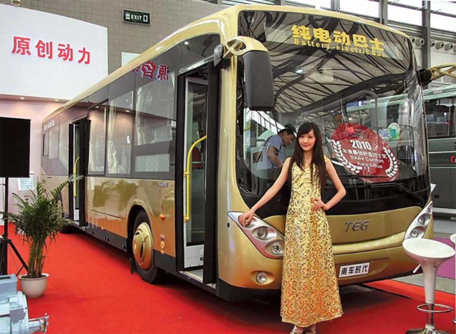 Китайская компания будет строить электробусы во Львове