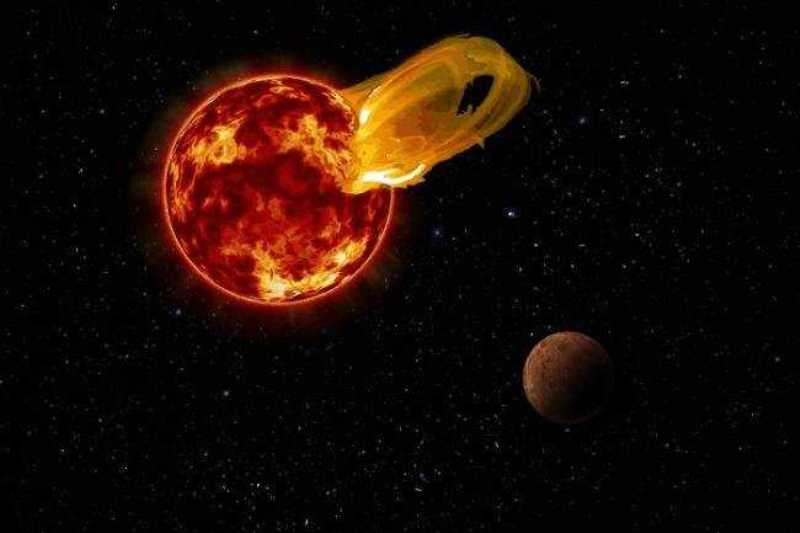 Вспышки на Проксиме Центавра могли уничтожить жизнь на ближайшей к Земле экзопланете