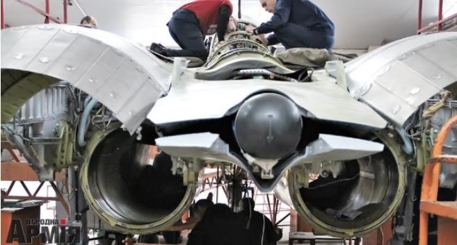 В Украине модернизируют истребитель МиГ-29 к поколению 4+