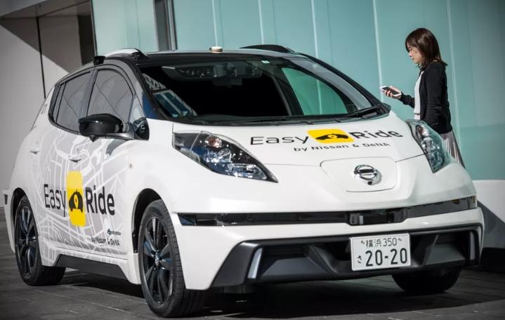 Nissan запустит беспилотные такси в Японии уже в марте