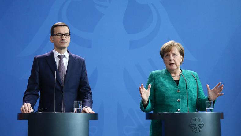 Меркель и Моравецкий «сверили часы» в отношениях Германии и Польши