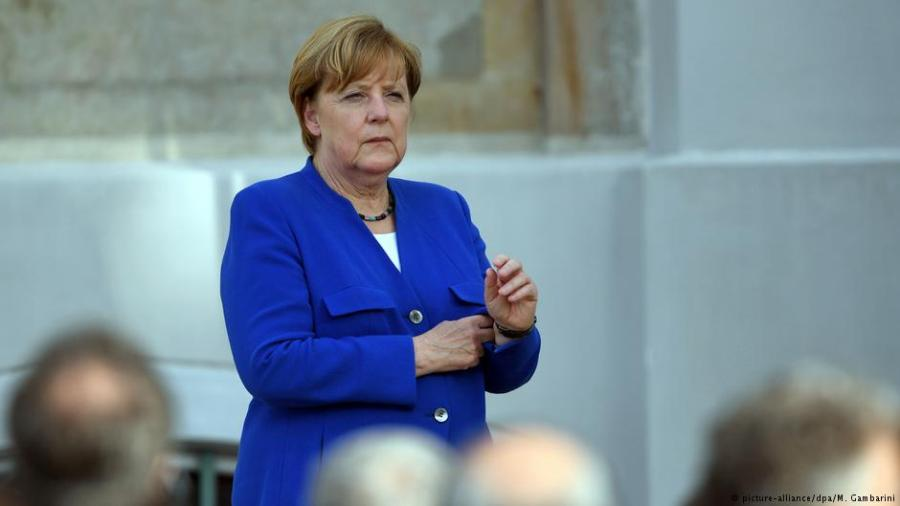 Парламент Германии проголосовал за кандидатуру Меркель на пост канцлера