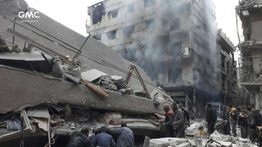 США и Великобритания обвиняют Россию в кровопролитии в Сирии