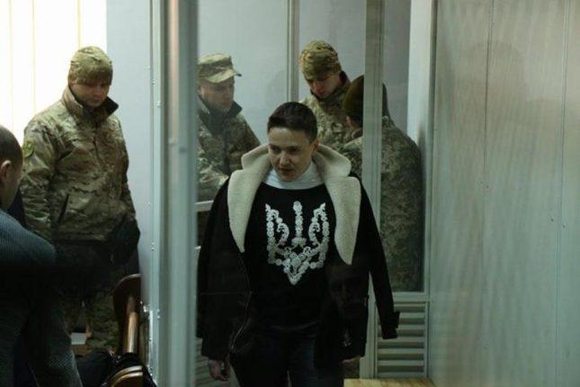 Савченко обвиняет партию Тимошенко в предательстве