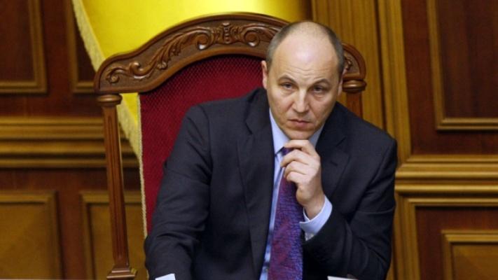 Парубий рассказал, когда Рада может рассмотреть отмену деклараций для активистов