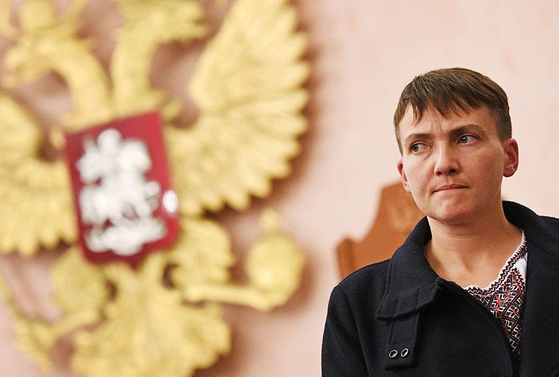 На полях судового рішення щодо Наді Савченко