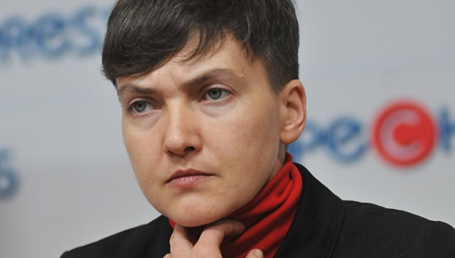Савченко заявила, что готова взять Рубана на поруки