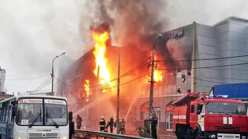 Путин назвал причины пожара в Кемерово