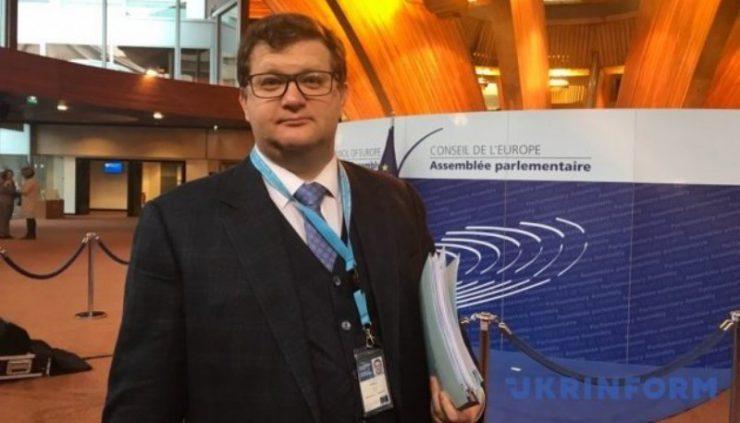 Арьев подал заявку в ПАСЕ про непризнание «выборов» в Крыму