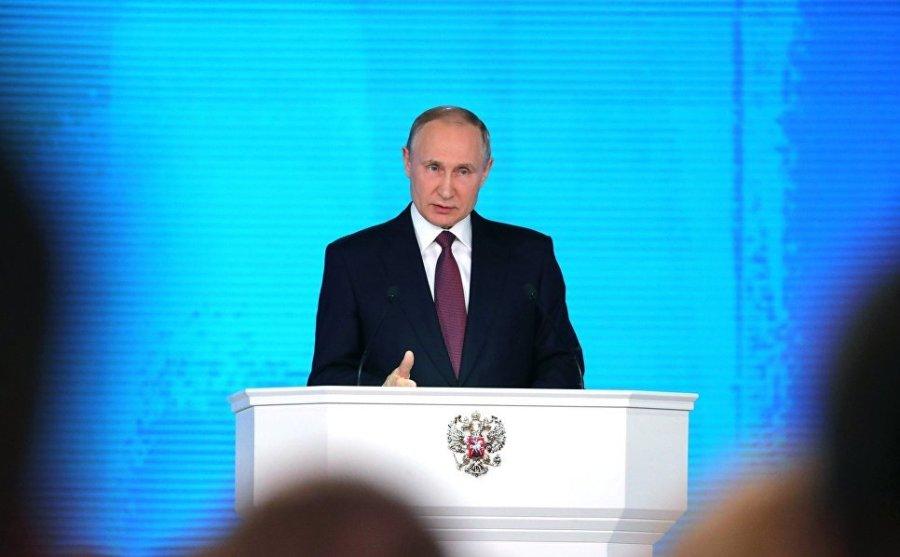 Путин пообещал мгновенный ответ на применение ядерного оружия против России