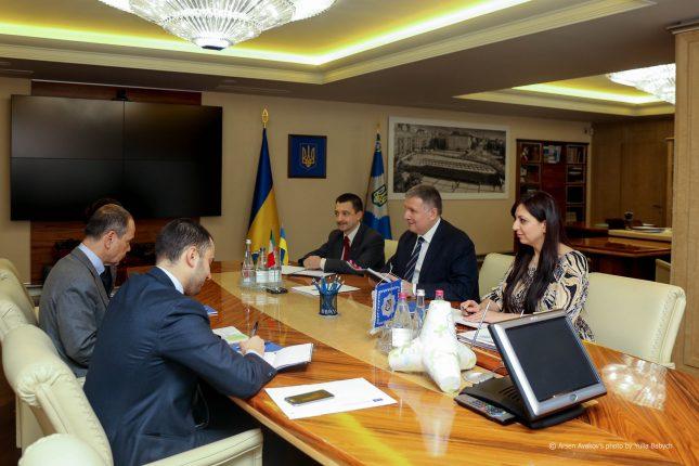 Аваков встретился с послом Италии по делу нацгвардейца Маркива, — МВД