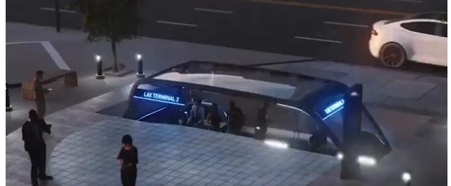 The Boring Company Илона Маска показала концепт подземных электробусов