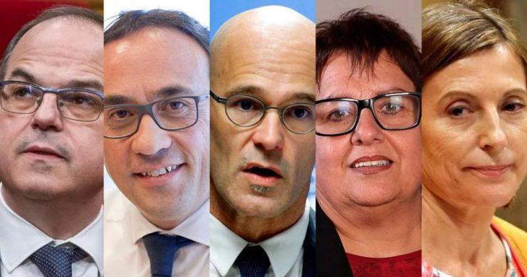 В Испании взяли под стражу 5 политиков из Каталонии, обвиняемых в мятеже