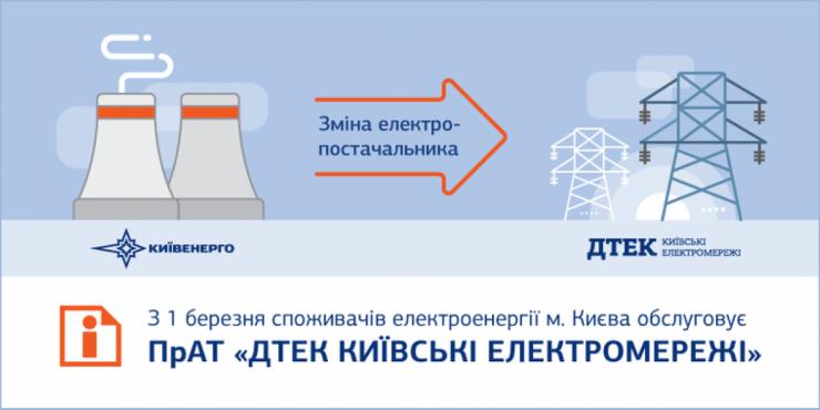 Киевляне получили платежки за электроэнергию от новой компании