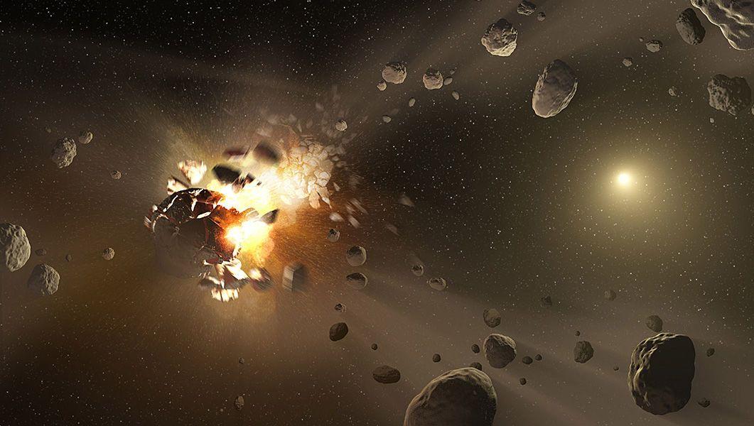 NASA построит корабль для защиты Земли от астероидов