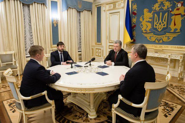 Порошенко поздравил Украину с исторической победой в Стокгольмском Арбитраже