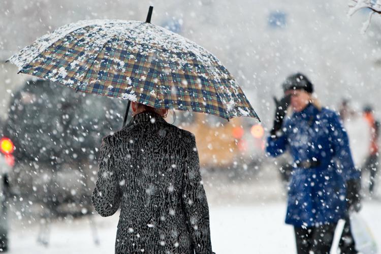 Завтра почти по всей Украине пройдет мокрый снег с дождем