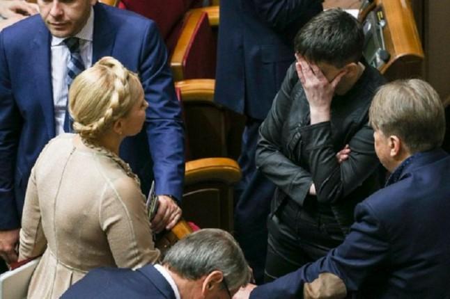 Тимошенко прокомментировала обвинения против Савченко