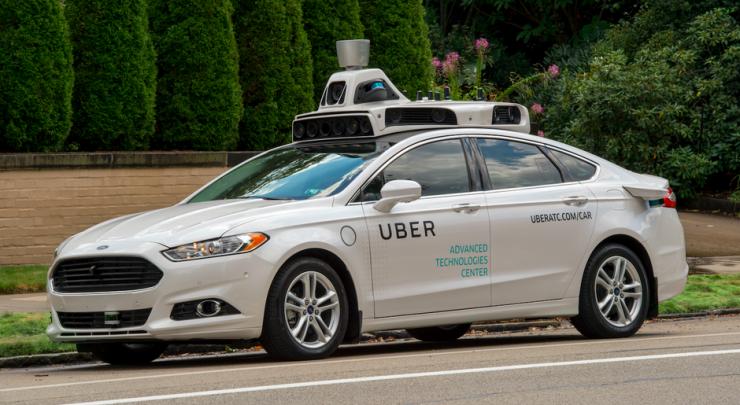 Uber приостановит испытания беспилотных автомобилей в Калифорнии