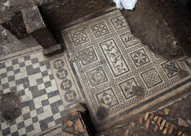 При строительстве римского метро нашли виллу эпохи императора Адриана