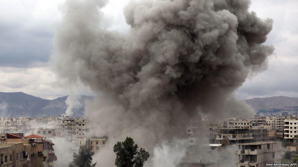 Количество погибших в Восточной Гуте превысило 600 человек