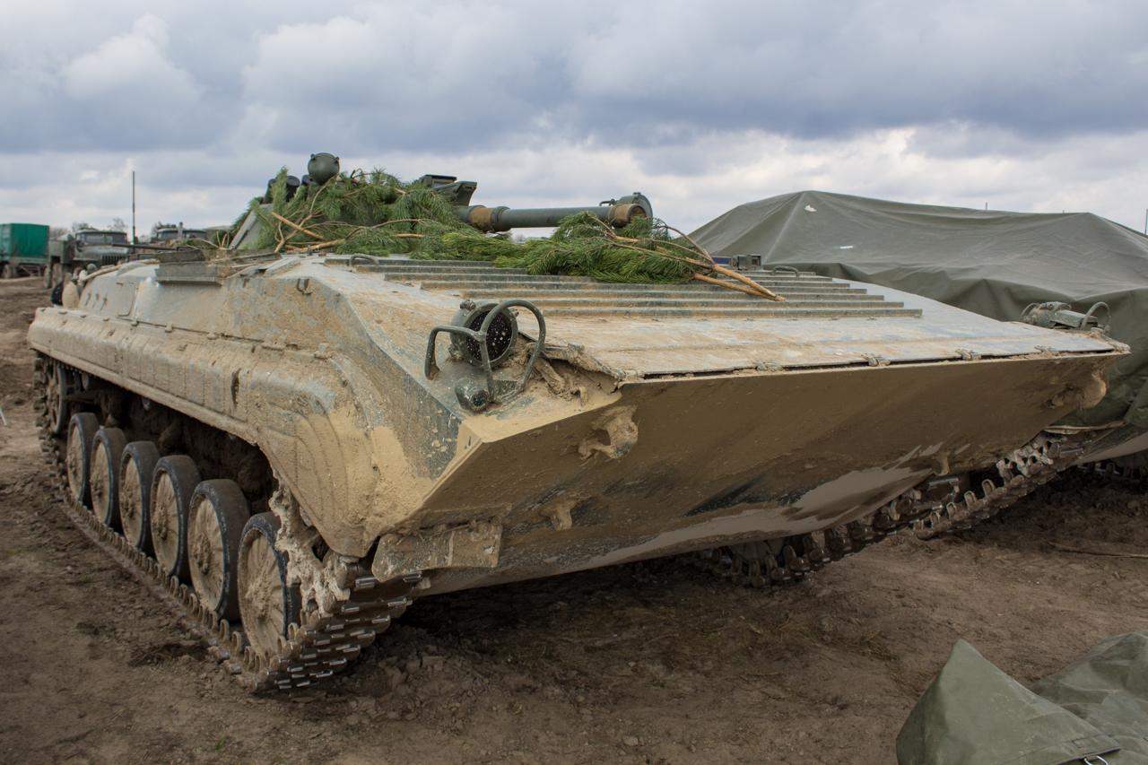 Украинская армия получила партию бронетехники из Польши