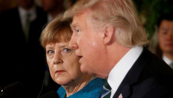 Меркель с Трампом во время встречи обсудили Украину и действия России