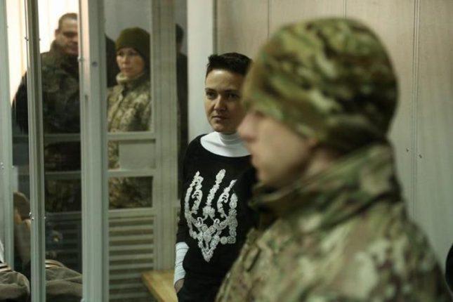 Савченко пока не согласилась на допрос на полиграфе