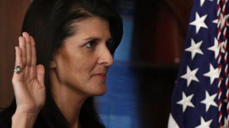 Трамп еще не принял решения о возможных действиях в Сирии, — Хейли