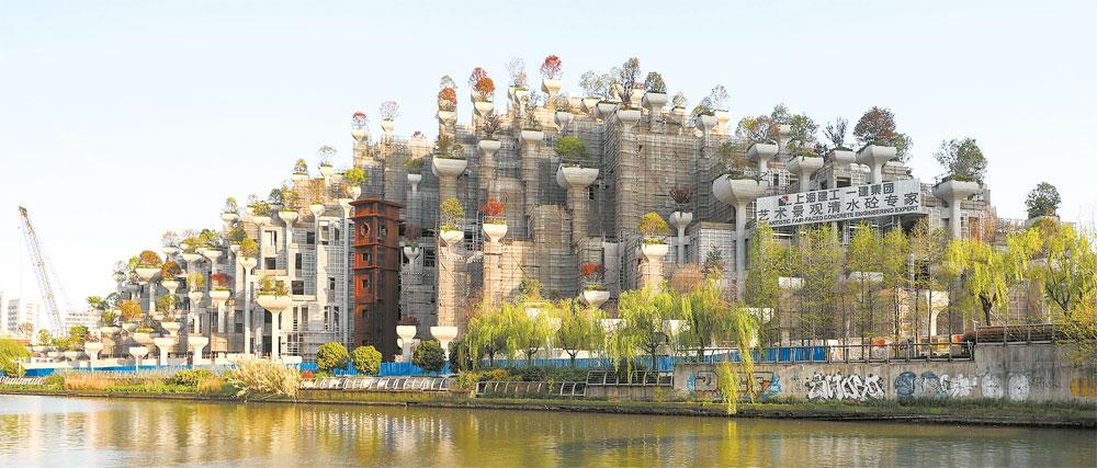Китай воссоздаст Висячие сады Семирамиды