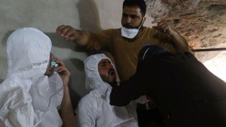 ВОЗ: 500 человек пострадали от химической атаки в Сирии