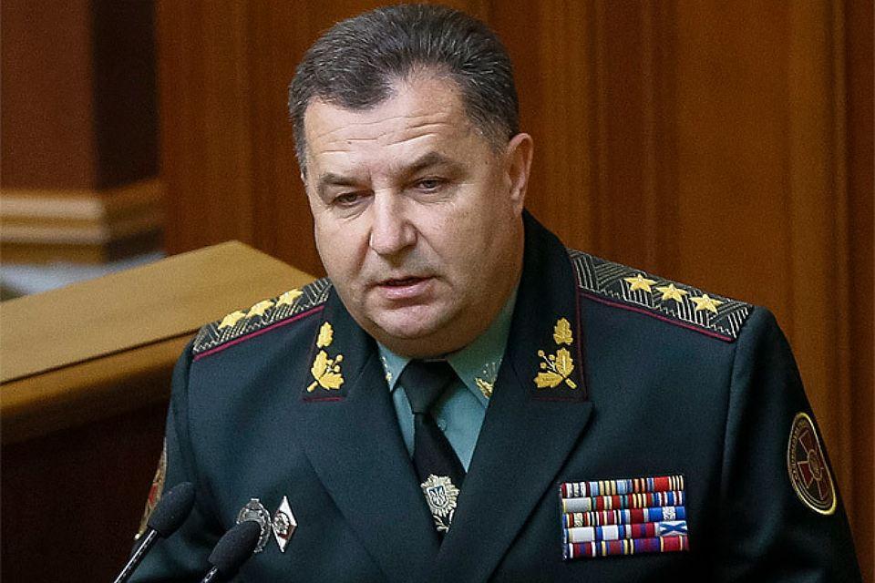 Полторак назвал возможную численность миротворческой миссии на Донбассе