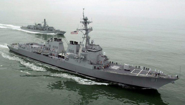 Эсминец США USS Winston S. Churchill с крылатыми ракетами вошел в Средиземное море