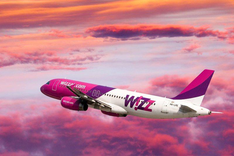 Wizz Air запустил однодневные скидки 20% на все рейсы до 31 мая