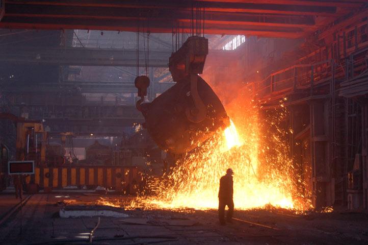 Украина потеряла позиции среди мировых производителей стали