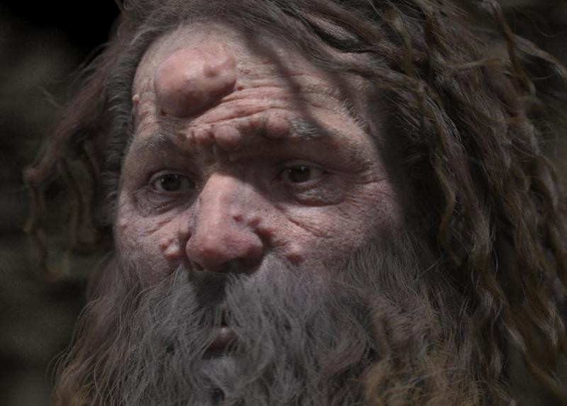 Антропологи воссоздали внешность кроманьонца с шишкой на лбу