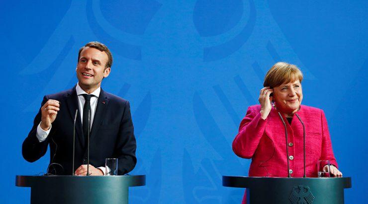 Меркель призвала Макрона к компромиссу по реформированию ЕС
