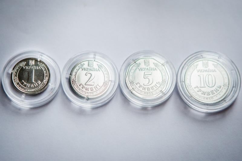 В Украине вводят в обращение новые монеты