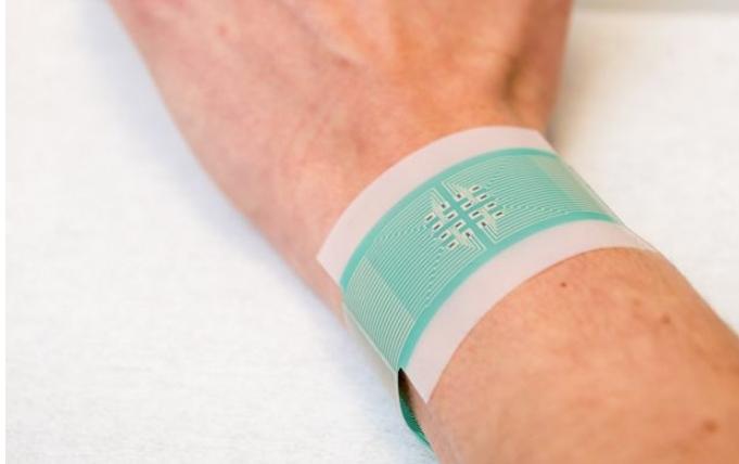 Электронный пластырь сможет измерить уровень глюкозы
