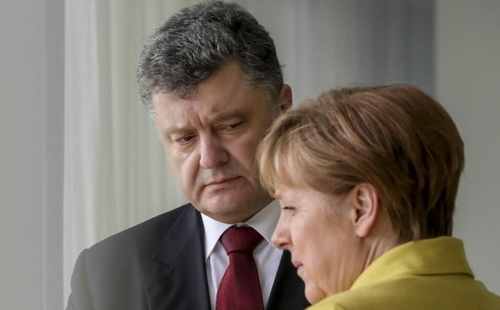 На следующей неделе Порошенко и Меркель будут договариваться о судьбе Донбасса