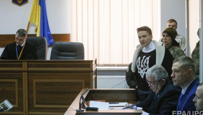 Савченко прервет голодовку на несколько дней