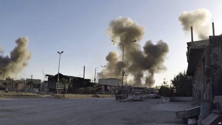 Британия готова рассмотреть любые ответные меры после химической атаки в Сирии