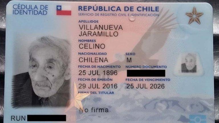 В Чили умер старейший в мире холостяк