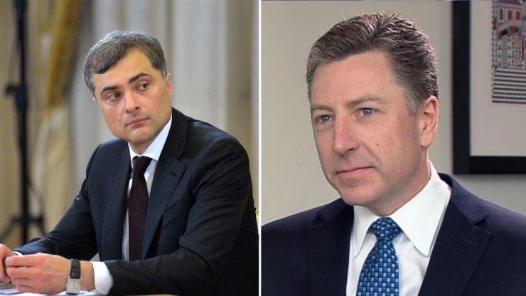 Песков: Переговоры Волкера и Суркова поставлены на паузу